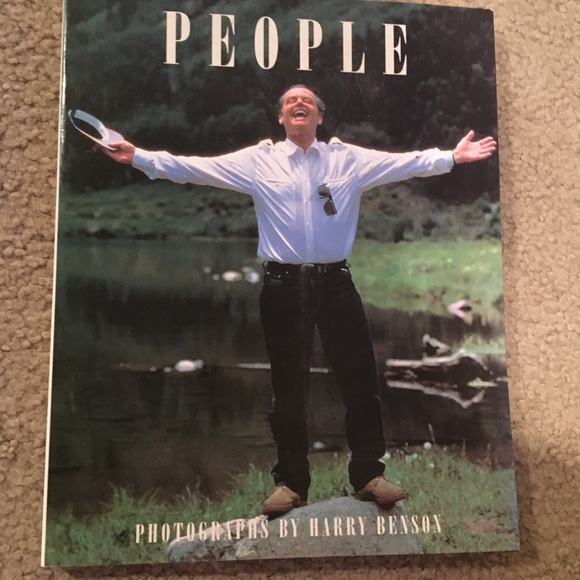 1990 People coffee table book